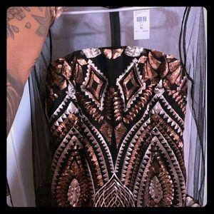 Fashionova XL sequins dress